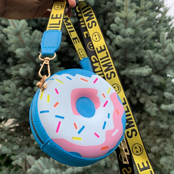 Blue Donut Bag